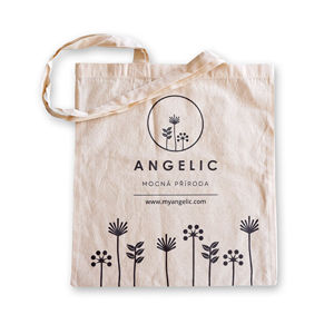 Angelic Angelic Bavlnená nákupná taška