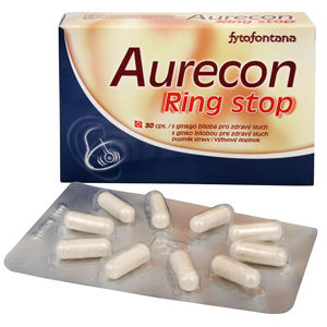Herb Pharma Aurecon Ring stop 30 kapsúl