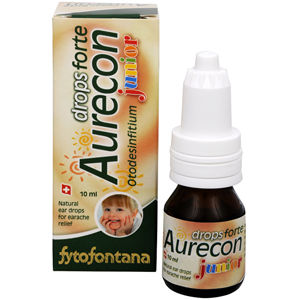 Herb Pharma Aurecon ušné kvapky Junior Forte 10 ml