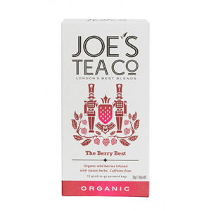 Joe´s Tea Co. Berry best ovocný čaj BIO 15 pyramidek