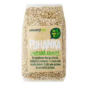 Country Life Bio Pohánka lúpaná krúpy 500 g