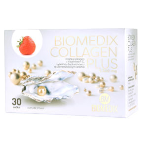 Biomedix Biomedix Collagen Plus Jahoda 30 sáčkov
