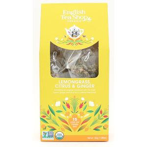English Tea Shop Čaj Citrónová tráva, zázvor & citrusy 15 pyramidek
