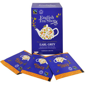 English Tea Shop Čierny čaj Earl Grey s bergamotom 20 sáčkov