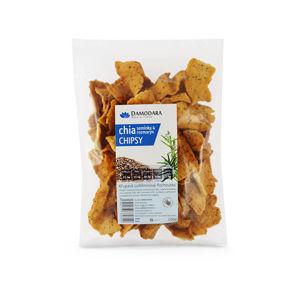 Damodara Chipsy s chia semienkami a rozmarínom 100 g