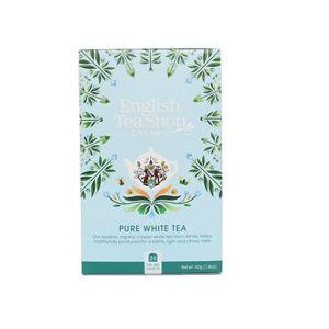 English Tea Shop Čistý biely čaj 20 sáčkov