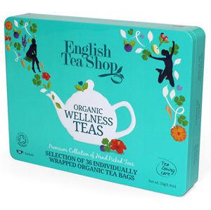 English Tea Shop Darčeková sada čajov 36 sáčkov / 6 príchutí - bledomodrá