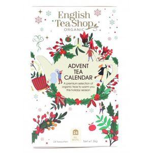 English Tea Shop Adventný kalendár - Biela krabička 24 sáčkov