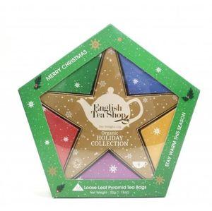 English Tea Shop Darčeková kolekcia sa Zlatou hviezdou 16 čajových vrecúšok