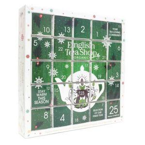 English Tea Shop Zelený Adventný kalendár PUZZLE 25 pyramidek