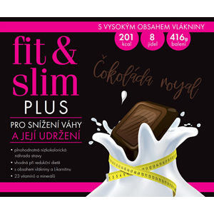 Fit & Slim Fit & Slim PLUS - Čokoláda Royal