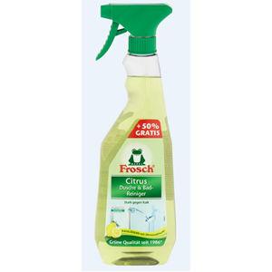 Frosch Frosch Čistič na kúpeľne a sprchy citróny - preplňovaná variant EKO, 750 ml