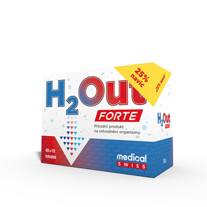 Clinex H2Out FORTE 40 + 10 kapsúl