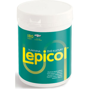 PROBIOTICS INTERNATIONAL LTD. Lepicol 180 kapsúl