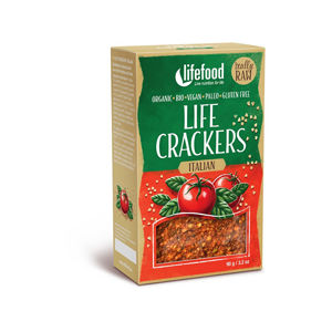 Lifefood Bio Life crackers Italské RAW 90 g
