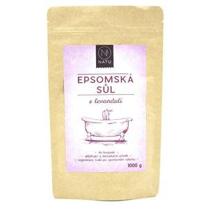 Natu Epsomská soľ s levanduľou 1000 g