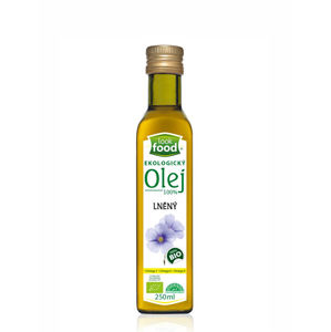 Look food s.r.o Olej ľanový 100% 250 ml BIO