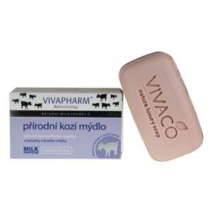 Vivapharm Prírodné jemné kozmetické mydlo s extraktmi z kozieho mlieka (tuhé) 100 g