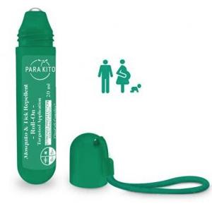 PARA`KITO Roll-on pro silnou ochranu proti komárům a klíšťatům