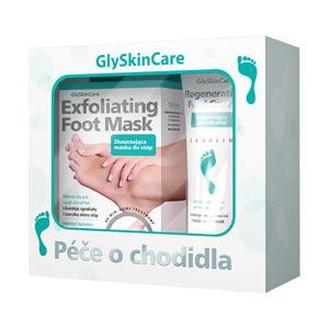 Biotter Pharma Sada starostlivosti o chodidlá exfoliačný maska na chodidlá 1 pár + regeneračný krém na chodidlá 75 ml - ZĽAVA - poškodená krabička