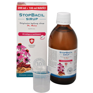 Simply You StopBacil sirup Dr. Weiss 200 ml + 100 ml ZADARMO