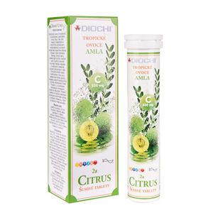 Diochi Vitamín Citrus šumivé tablety 20 tabliet