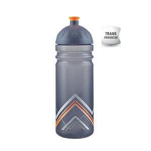 R&B Zdravá fľaša 0,7 l BIKE Hory oranžová